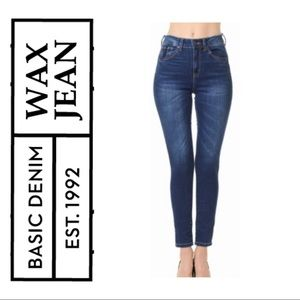 Wax Jean High Rise Push-Up Jeans- 3